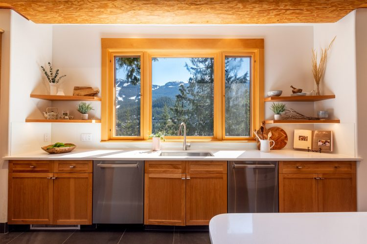 Whistler Home Staging Kitchen